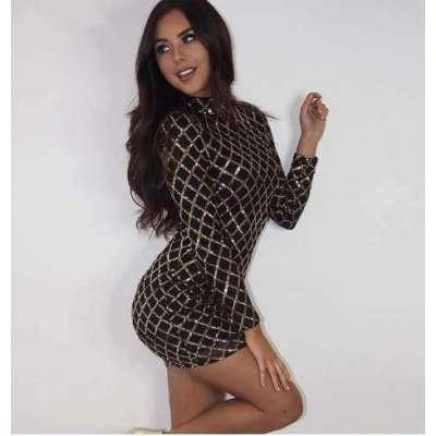 mahir Sequin Dress Women