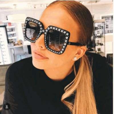 Designer Retro Sunglasses