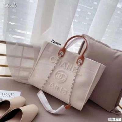 chanal inspired tote bag