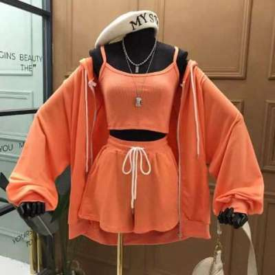 Denny 3 piece casual track set active wear co-ord