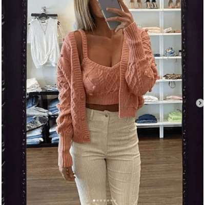 Lemi Knit Tank top and sweater