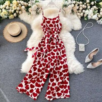 Sharry heary casual jumpsuit