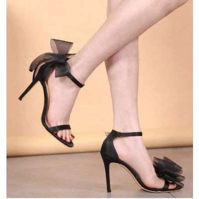 Bow Fashion Sandals Wedding Party Korean Style Womens Shoes