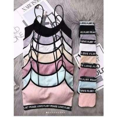 Love Flirt Peace lingerie Set