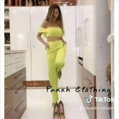 Kelly casual two piece Co-ord evening outfit