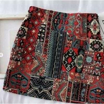 Sunna Boho Mini Skirt