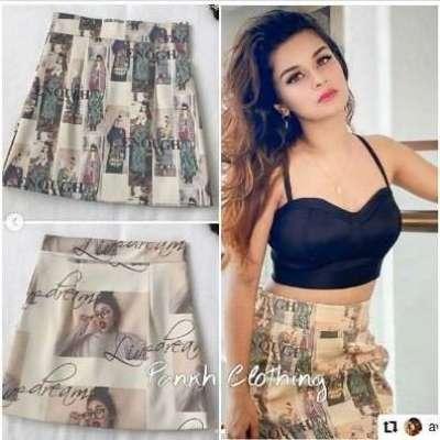 Kala Pu Leather Skirt