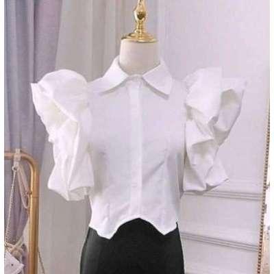 Natalaya Dramatic Sleeve Shirt