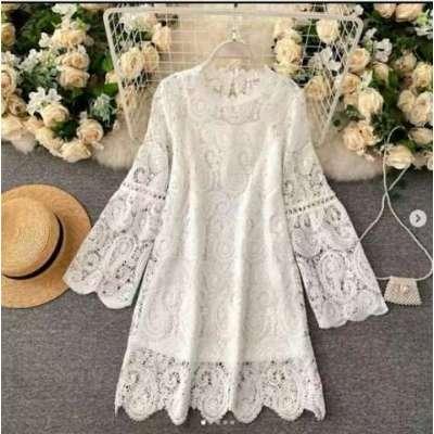 Sheido Crocia lace dress