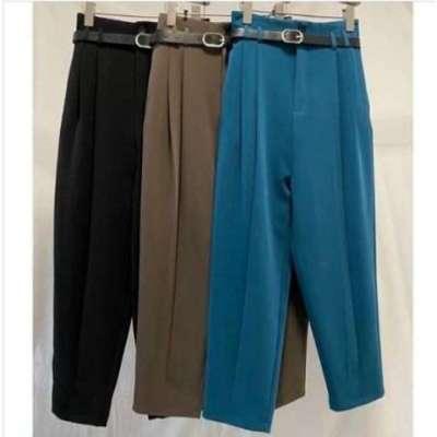 Roman High Waist Sloutchy Pants