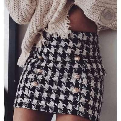 Misu Tweed Skirt