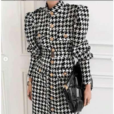 Barbara Checkered Dress