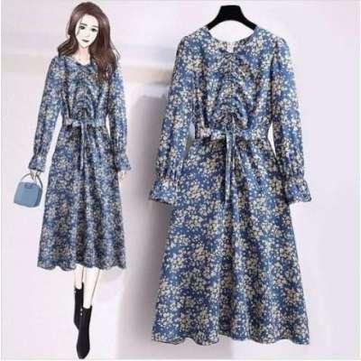plus size Ceery Floral Dress
