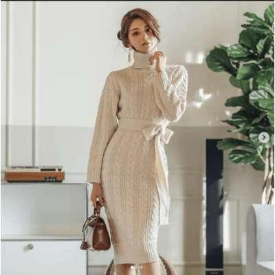 Nina woolen Dress