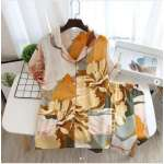 Dochie Flower & Leaf Print Night Suit