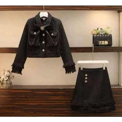 Roseta tweed coord formal dress set