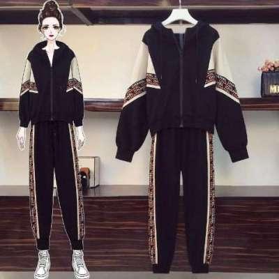 chane active wear front zip jacket tracksuit plus size