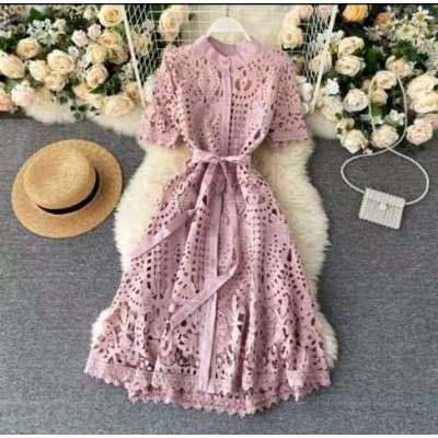 Teera hollow out summer dress