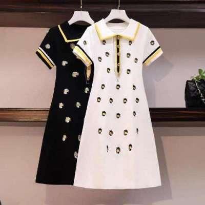Teya Embroidered tee dress