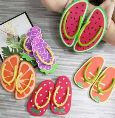 Fruity sliders slipper