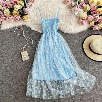 Paheli sunflower casual dress