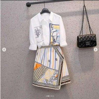 Julian Summer Shirt and Skirt Coord