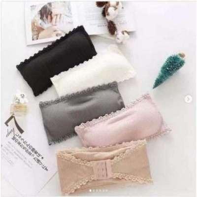 Lee strapless essential cotton bra