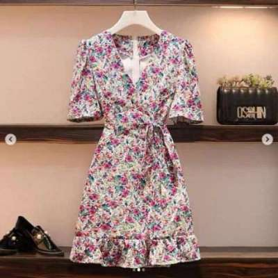 Meh Floral Dress