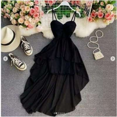 Milansa High Low Dress